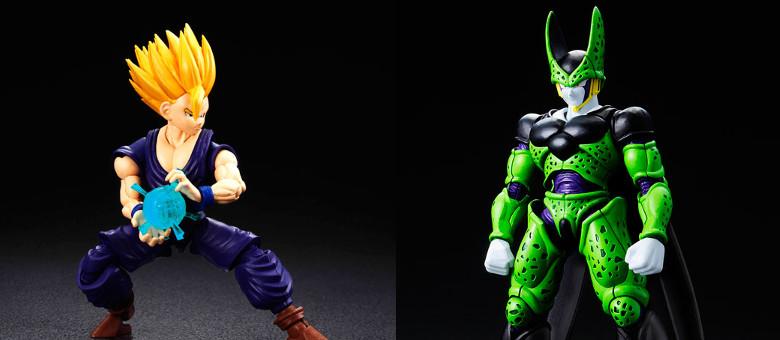 Bandai figure rise standard dragon ball perfect cell and super saiyan 2 son gohan the fwoosh - Super cell dbz ...