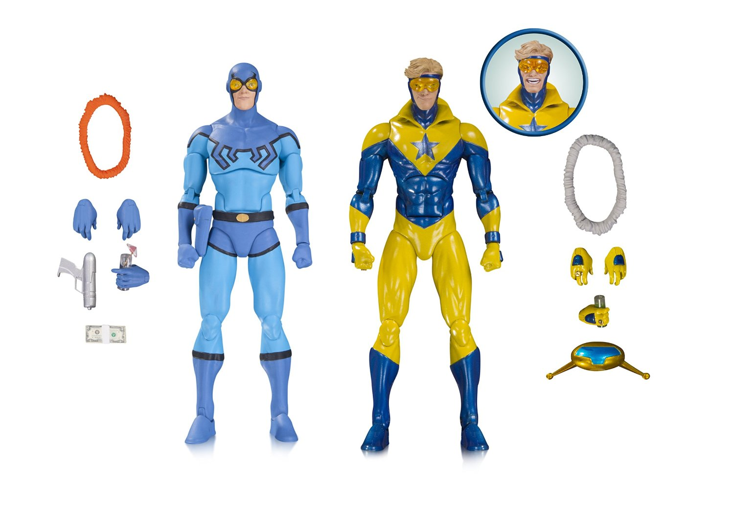 "DC COLLECTIBLES ICONS 6/"" MODERN BLUE BEETLE ACTION FIGURE NEW!"