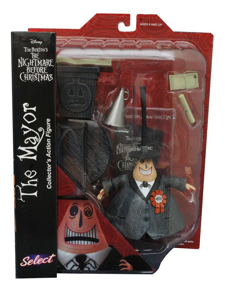 Diamond Select: The Nightmare Before Christmas Select Series 2 ...
