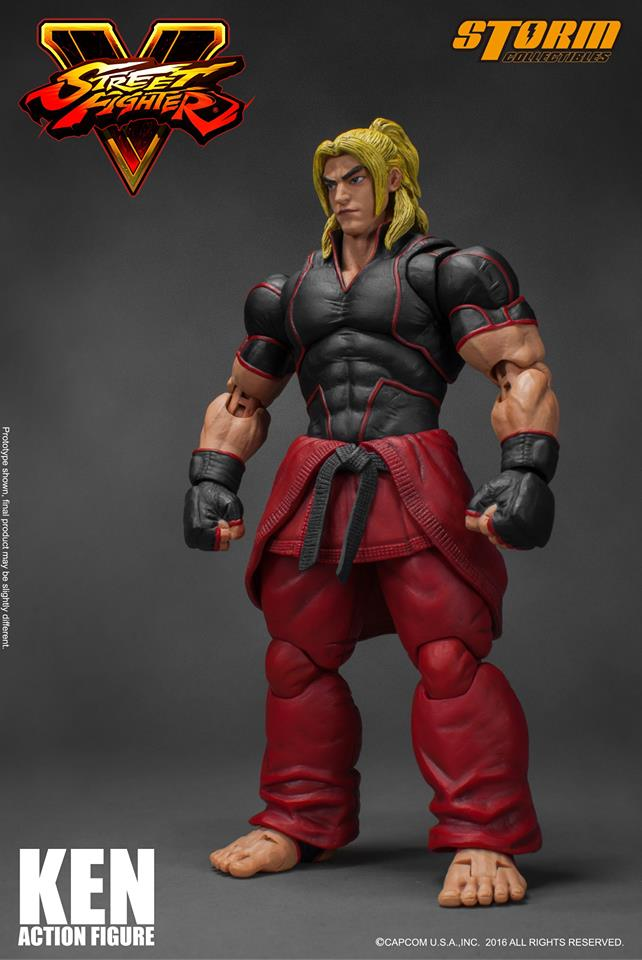 Storm Collectibles Street Fighter V Ken Masters