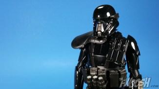 Bandai Star Wars Rogue One Model Kit Death Trooper Close 02