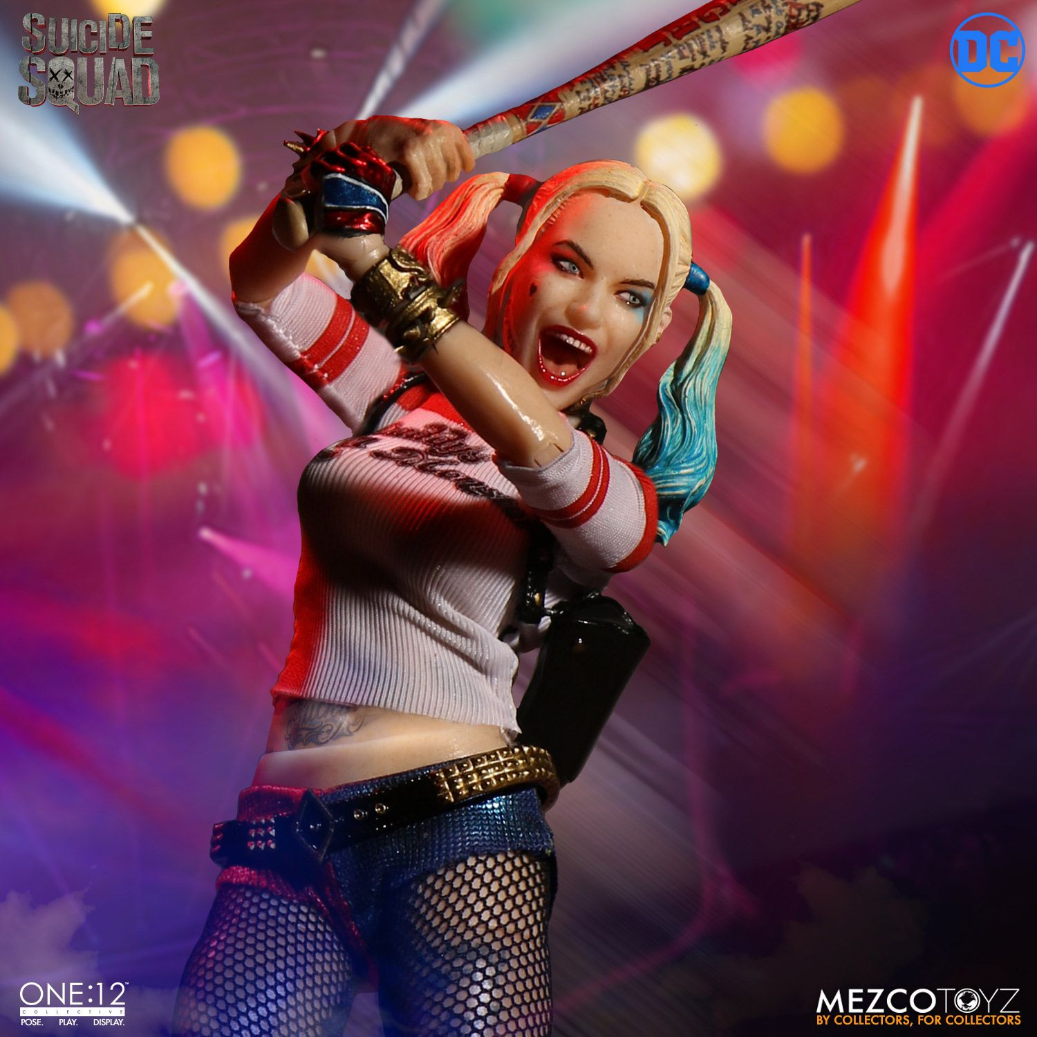 mezco one 12 collective suicide squad harley quinn the fwoosh. Black Bedroom Furniture Sets. Home Design Ideas