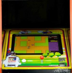 FREEing-Bandai-Namco-arcade-cabinet-review-rally-x-screen