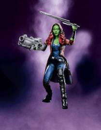 Toy Fair 2017 Hasbro Marvel Legends Promo Guardians of the Galaxy Gamora