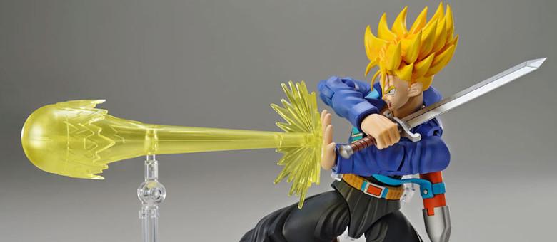 Bandai Model Kit Figure Rise Super Saiyan Trunks Model Kit