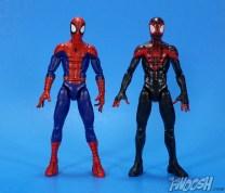 Hasbro Marvel Legends Ultimate Spider-Man and Vulture 2 Pack Comparison 03