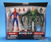 Hasbro Marvel Legends Ultimate Spider-Man and Vulture 2 Pack Package 01
