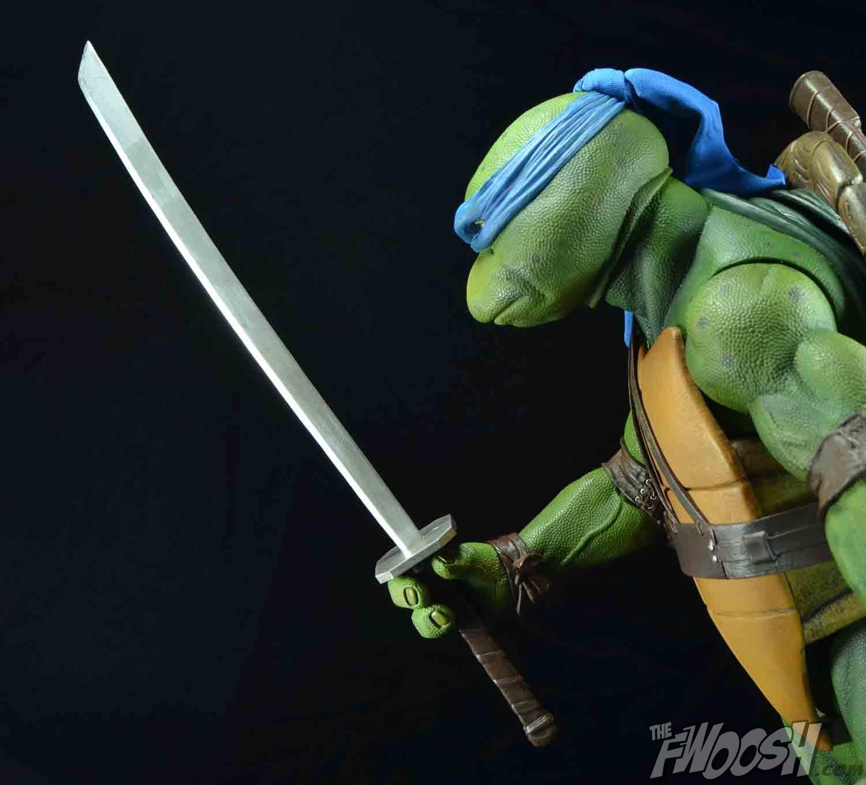 neca teenage mutant ninja turtles quarter scale movie leonardo