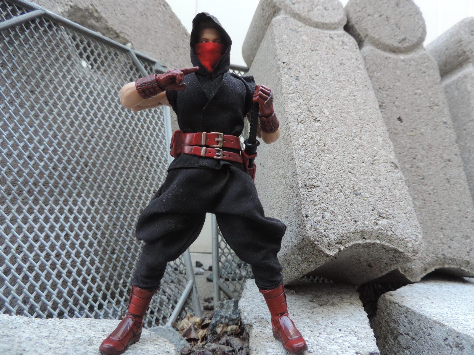 Cjesim Custom Ninja Suits For 6 Inch Figures The Fwoosh