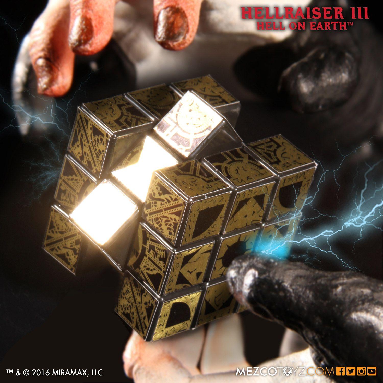 New Mezco Hellraiser Lament Configuration Puzzle Cube Pinhead Cenobite