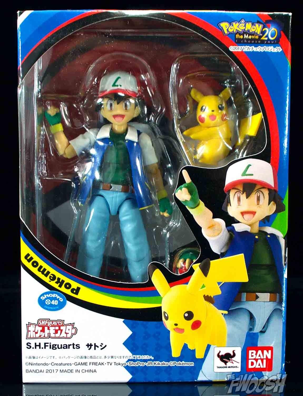 Bandai: S.H. Figuarts Pokémon Ash Ketchum and Team Rocket ...
