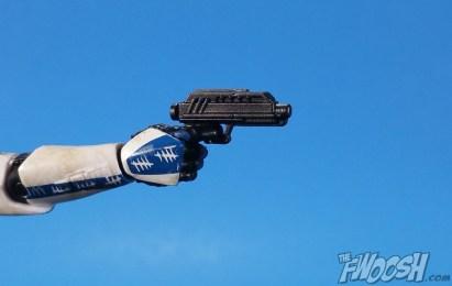 Hasbro Star Wars Black Series HasCon Exclusive Captain Rex Pistol 02