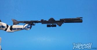 Hasbro Star Wars Black Series HasCon Exclusive Captain Rex Rifle 01