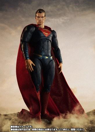 Bandai SH Figuarts Justice League Superman Promo 03