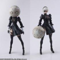 Square Enix BRING ARTS NieR Automata 2B Machine 2 Figure Set Promo 10