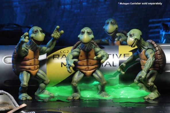 NECA: Teenage Mutant Ninja Turtles Quarter Scale Baby ...