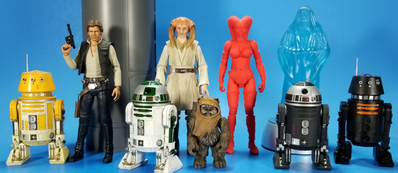 """Star Wars Cantina Alien Givin Custom Action Figure Head Casts 1:18th or 3-3//4/"""""""
