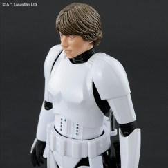 Bandai Star Wars A New Hope Luke Skywalker Stormtrooper Model Kit Promo 03
