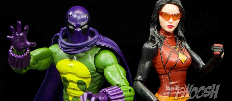 """Marvel Legends 6/"""" Scale Figure Spider Girl Lizard série complète Excellent"""