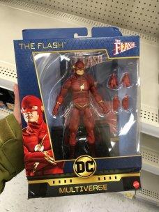 Mattel Signature Series DC Flash TV Found 01