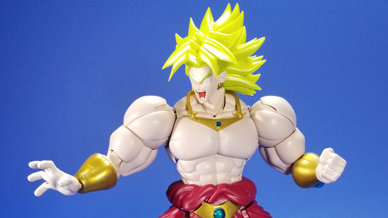 Bandai: Figure-rise Standard Dragon Ball Z Broly Video and ...