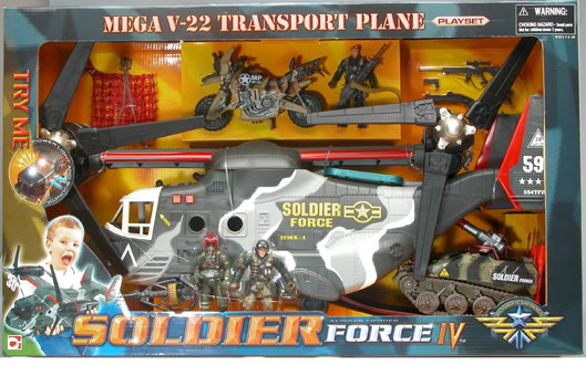 Soldier Force 9 Elicottero : Big ass vehicles chap mei v osprey pt the fwoosh