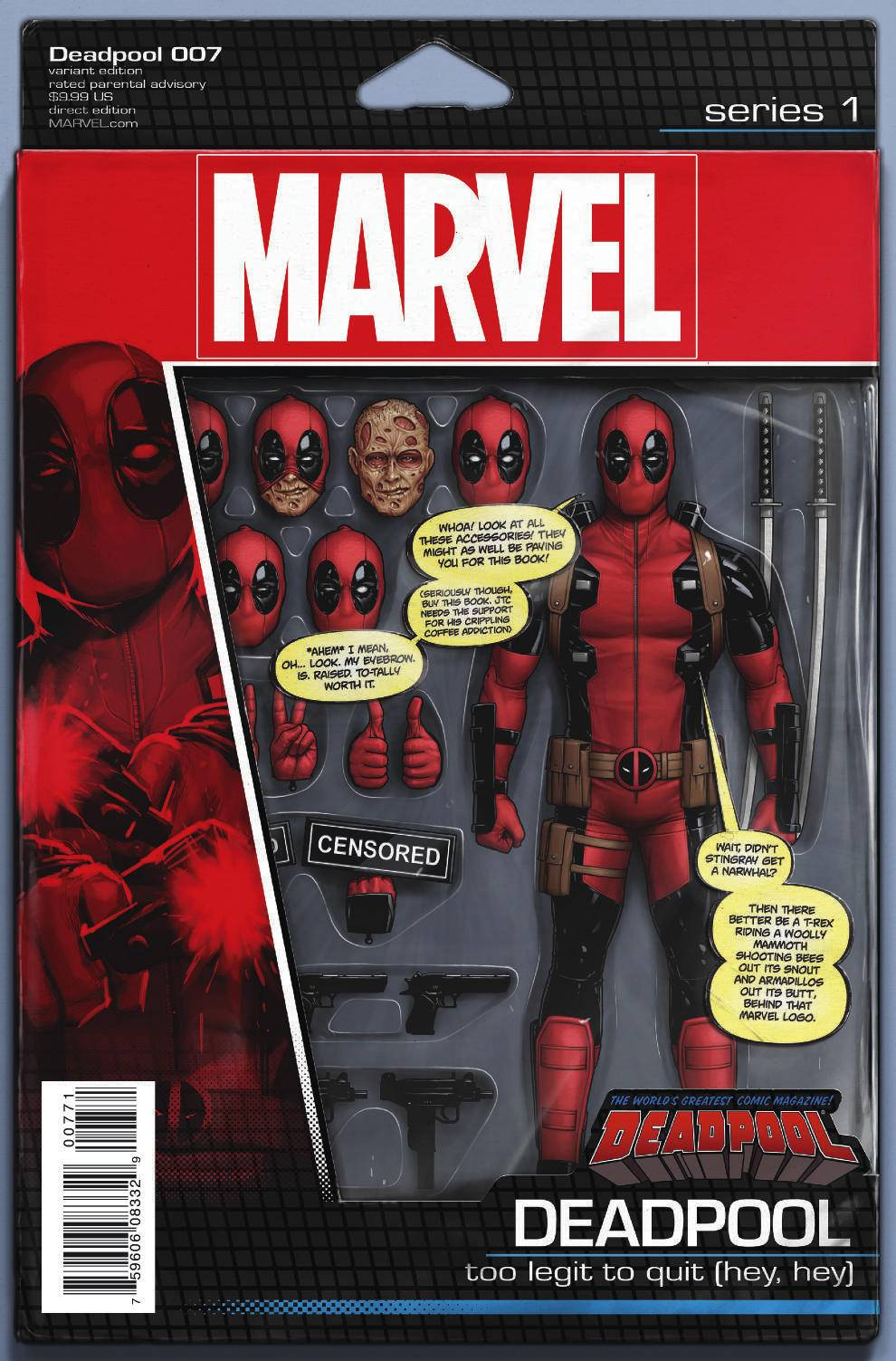 Comics and Their Cool Action Figure Variant Covers | The ...