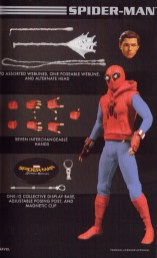 Mezco Toy Fair Catalog One12 Collective Homamade Suit Spider-Man Homecoming 02