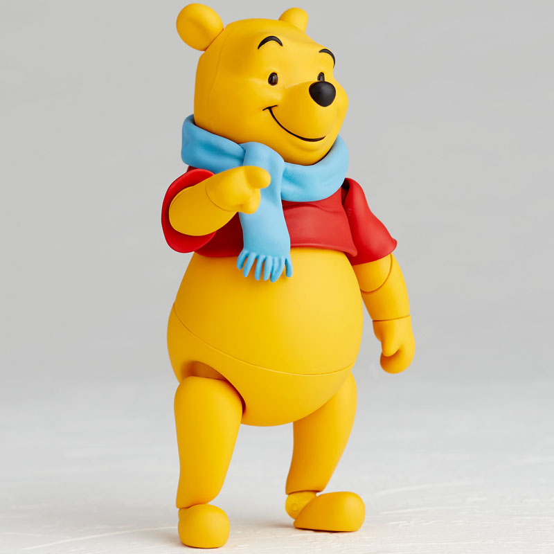 Kaiyodo Movie Revo Revoltech Series No.011 Winnie the Pooh Action Figure