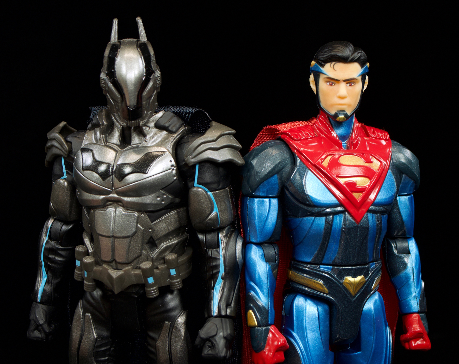 Toys For Injustice : Mattel dc multiverse injustice batman and superman