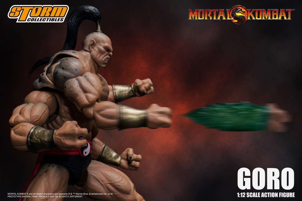 Storm Collectibles: Mortal Kombat Goro Promotional Images and Pre