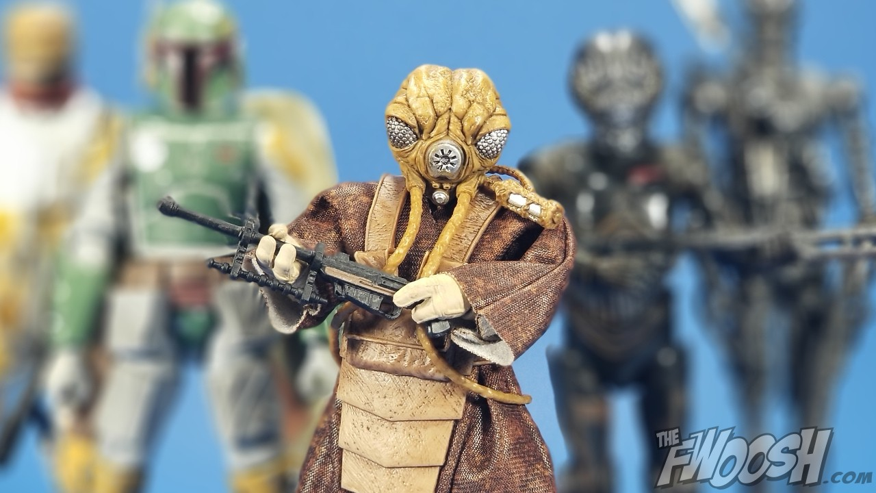 Hasbro Exclusive Star Wars The Black Series Zuckuss 6-inch Action Figure