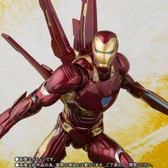 Bandai SH Figuarts Avengers Infinity War Iron Man Mark 50 Nano Weapons Edition Promo 01