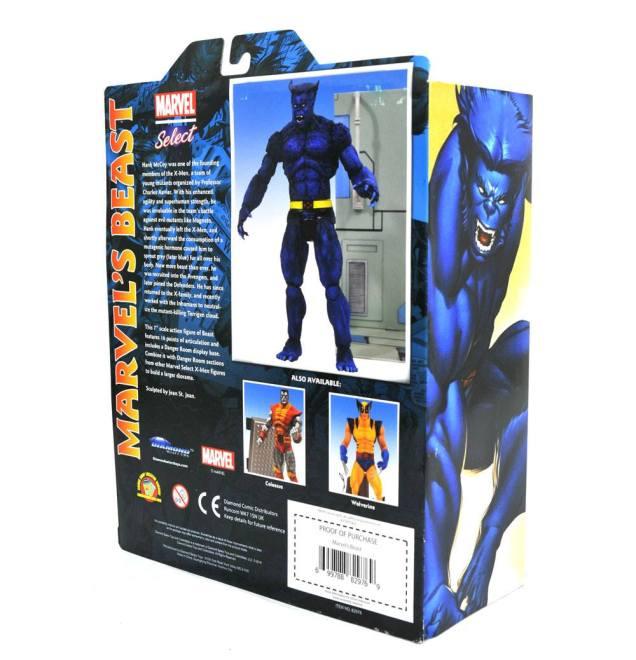 Diamond Select Marvel Select Beast Package 02