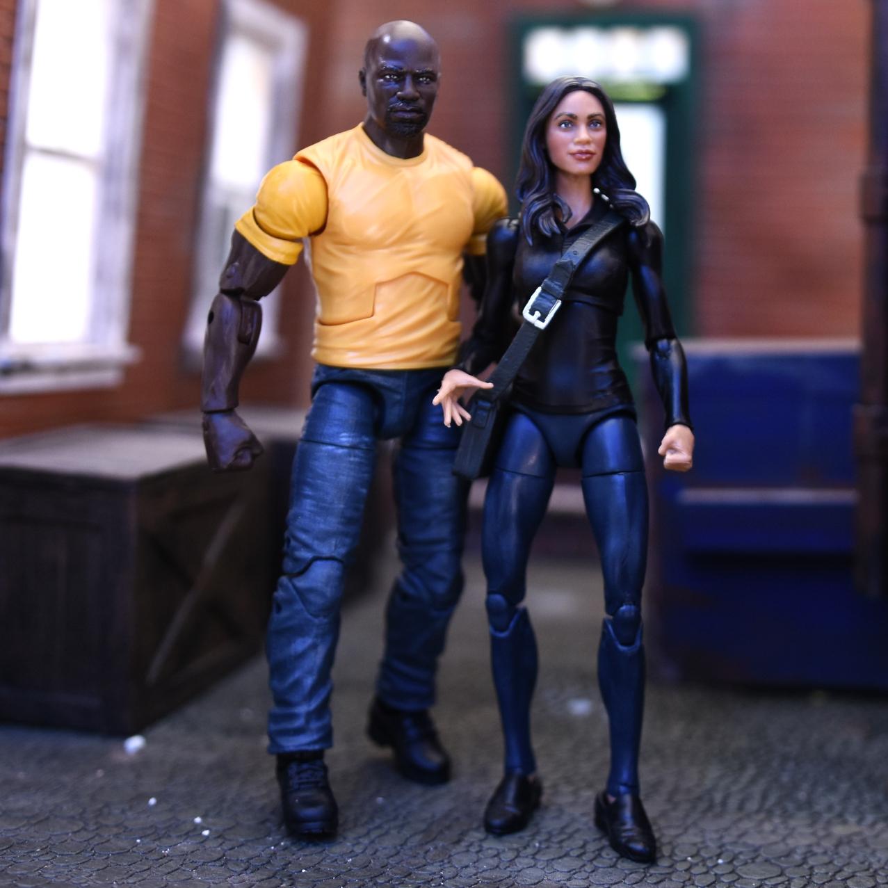 "Marvel Legends Luke Cage 6/"" figure from Netflix 2 Pack Figure only"