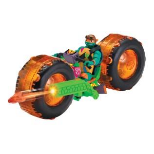 Playmates Toys Rise of the Teenage Mutant Ninja Turtles Shellhogs with Michelangelo Promo 01
