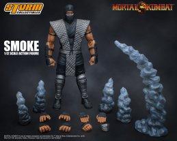 Storm Collectibles NTCC Exclusive Mortal Kombat Smoke Promo 09