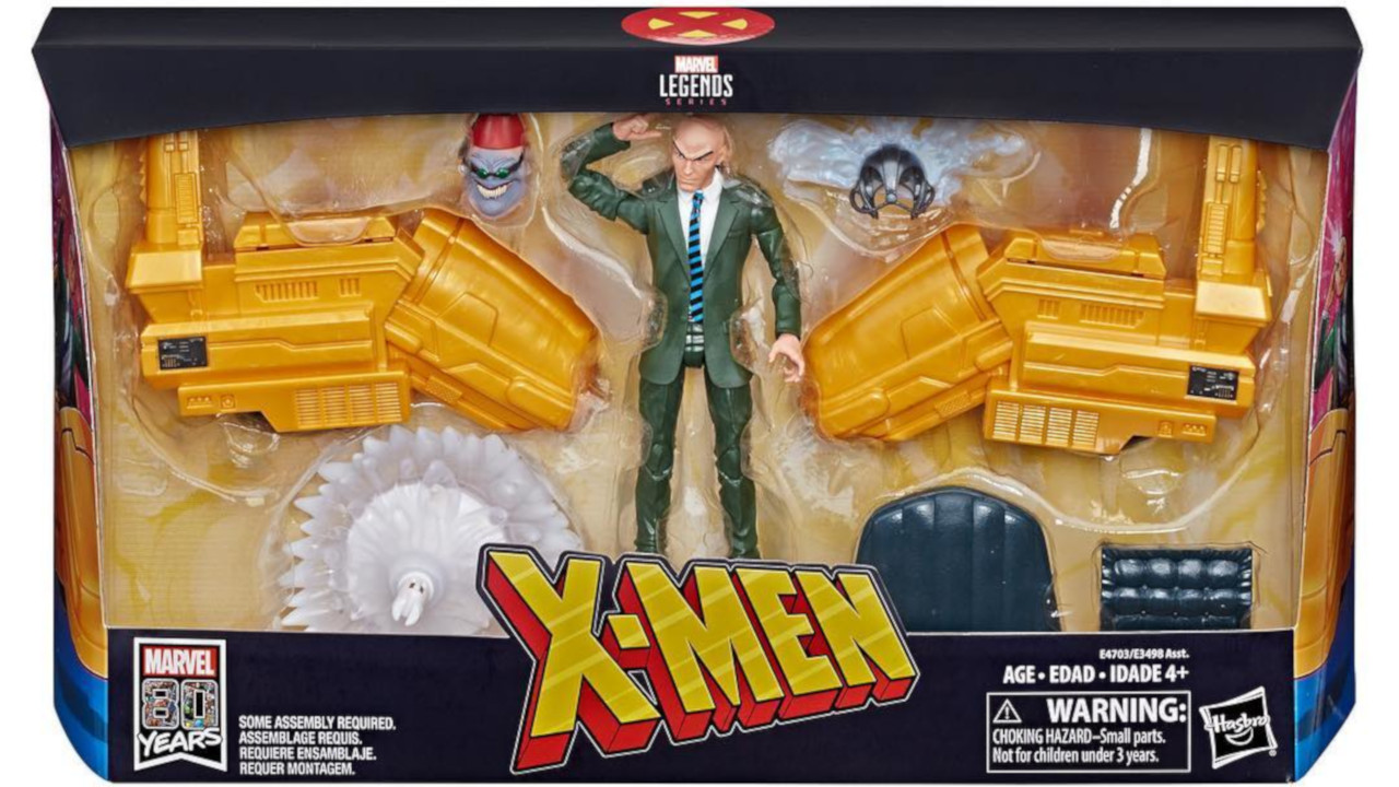 Thanks To Hasbro Pulse We Get A Look At The Packages For Professor X And  Deadpool With Vehicles. And You Know What Packages Mean, Right?