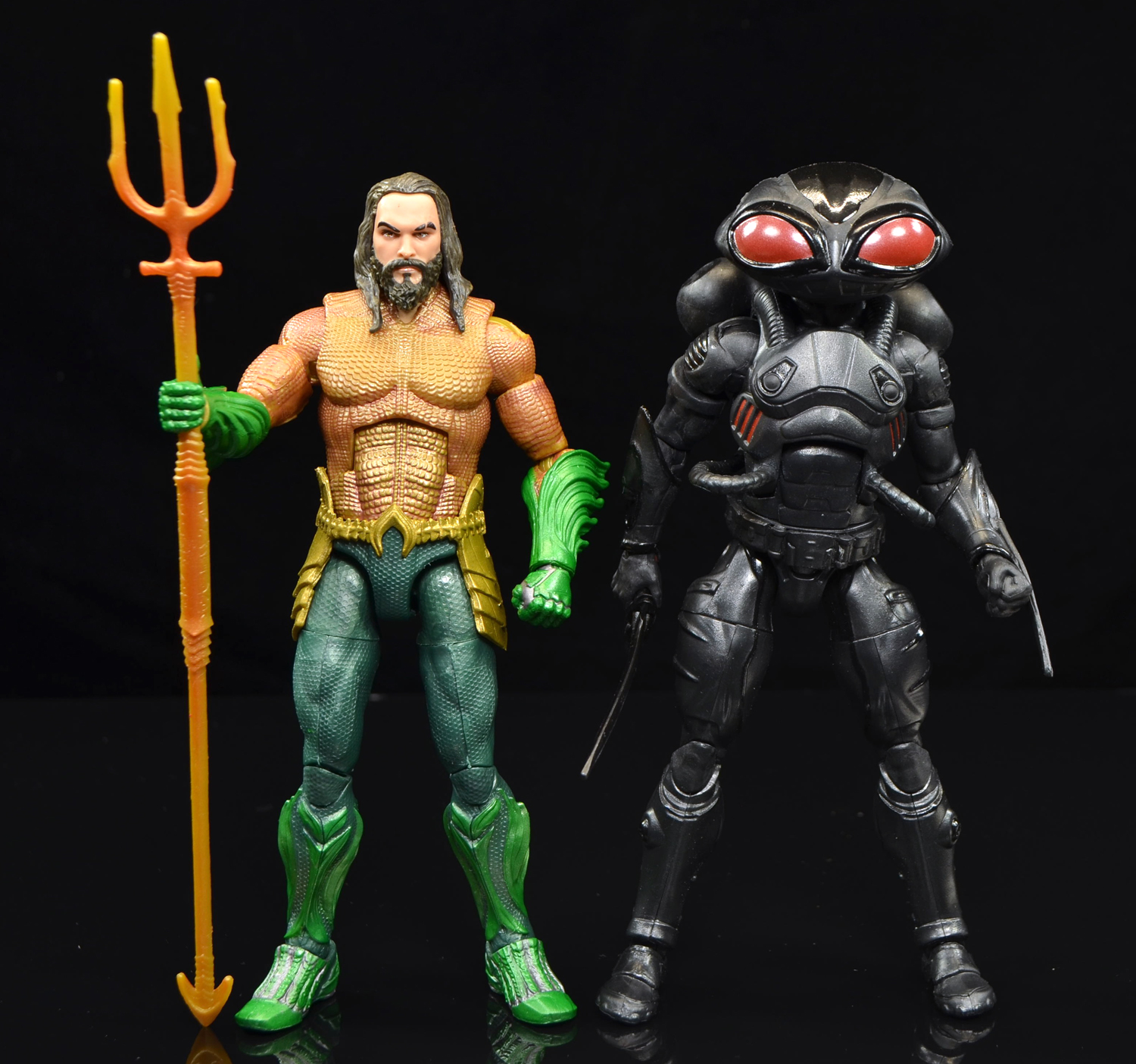 Mattel Dc Multiverse Trench Warrior Series Aquaman And Black Manta