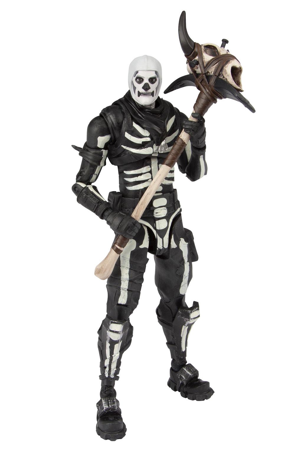 Mcfarlane Toys Fortnite Skull Trooper Raptor Black