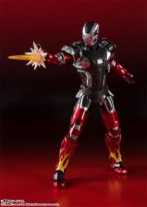 Bandai Spirits Tamashii Nations SH Figuarts Marvel Iron Man MKXXII 22 Hot Rod Promo 02