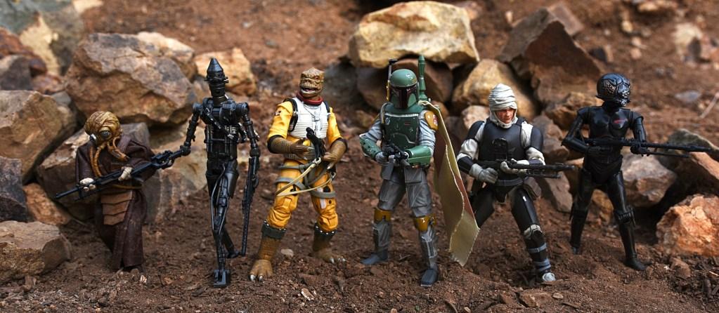 "Star Wars Black Series Bounty Hunter Bossk 6/"" Action Figure"