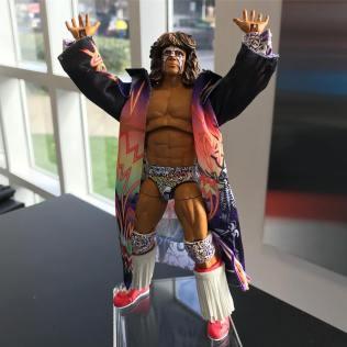 Mattel WWE Ultimate Edition Ultimate Warrior Prototype 01