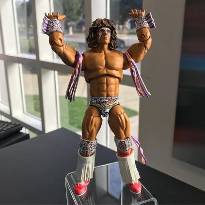 Mattel WWE Ultimate Edition Ultimate Warrior Prototype 03