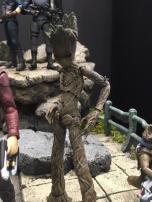 Tokyo Comic Con Bandai SH Figuarts Marvel Teen Groot 02