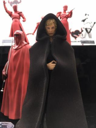 Tokyo Comic Con Bandai SH Figuarts Star Wars Return of the Jedi Jabbas Palace Luke Skywalker 01