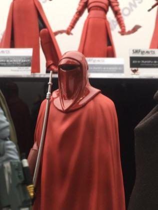 Tokyo Comic Con Bandai SH Figuarts Star Wars Return of the Jedi Royal Guard 01