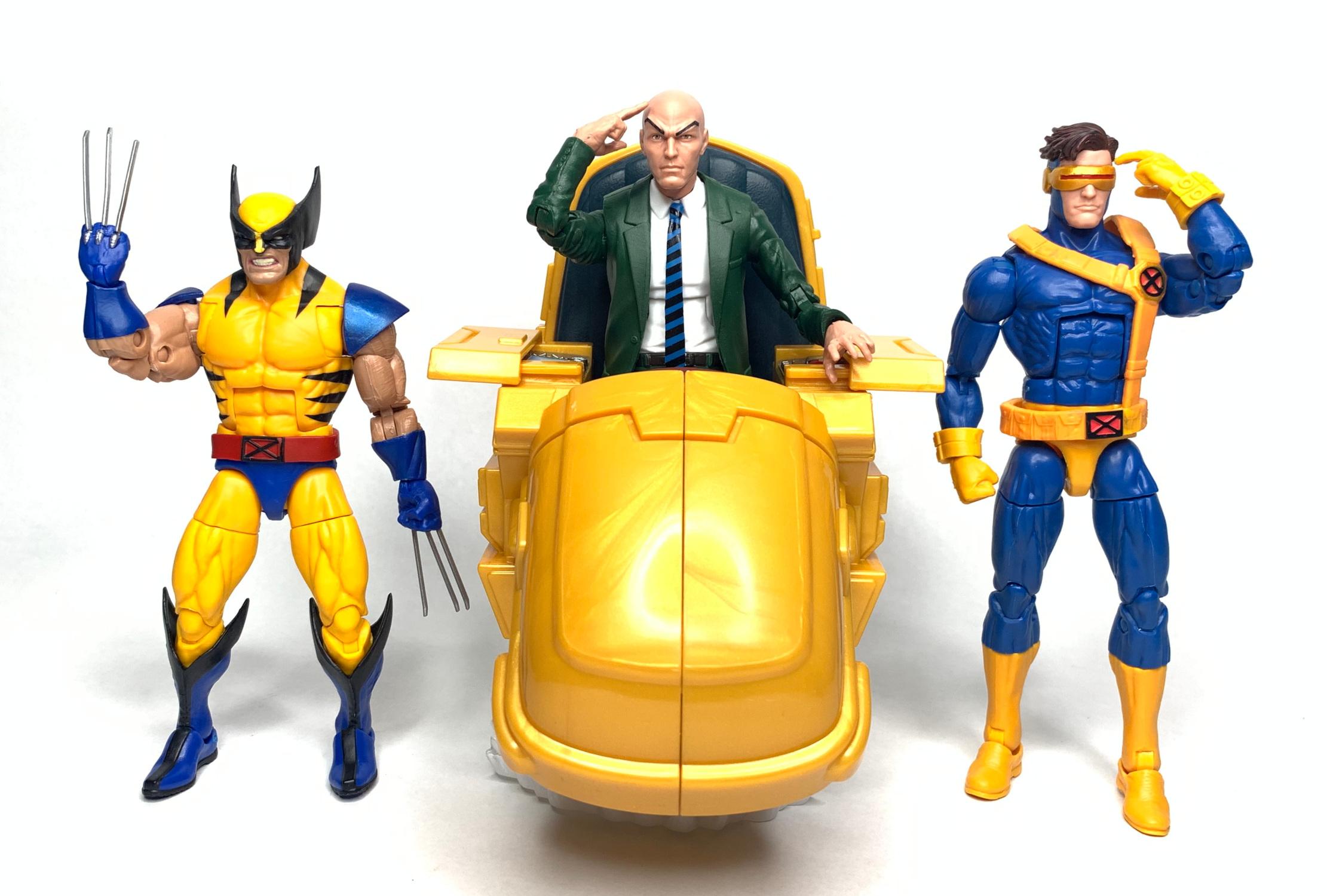 X-men Professor X Action Figure From Marvel Comics