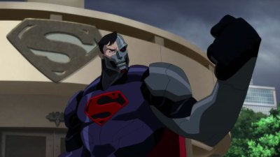 reign of the supermen - cyborg superman