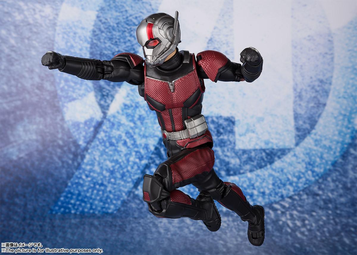 Bandai Tamashii Nations SH Figuarts Avengers Endgame Ant-Man promo 07